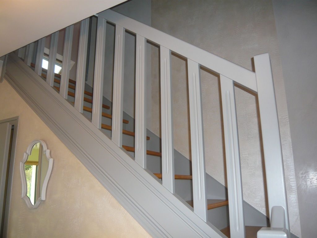 D co entr e cage d 39 escalier for Idee deco cage d escalier